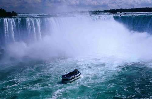 Maid of the MIst, barco a las cataratas del NIágara