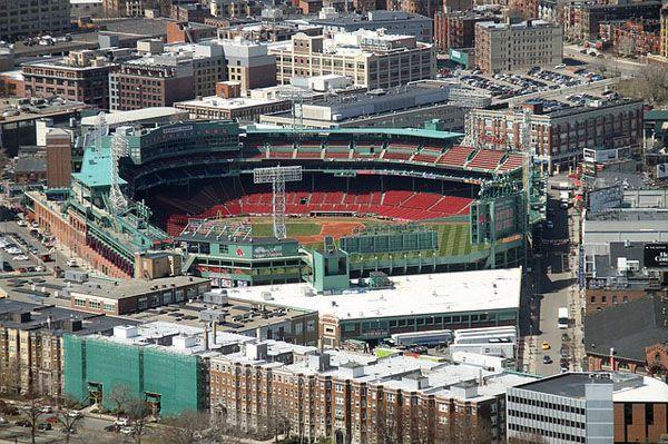 Fenway Park estadio de los Red Sox Boston