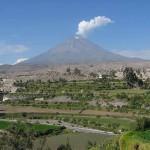 Arequipa, ciudad volcánica de Perú