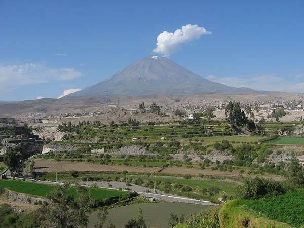 Volcan Misti en Perú