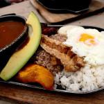 Bandeja Paisa, plato tradicional colombiano