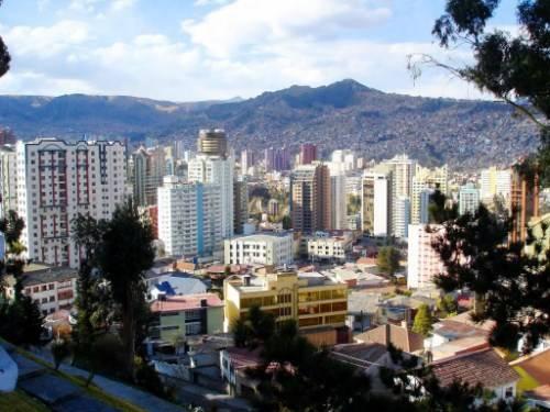 La Paz en Bolivia