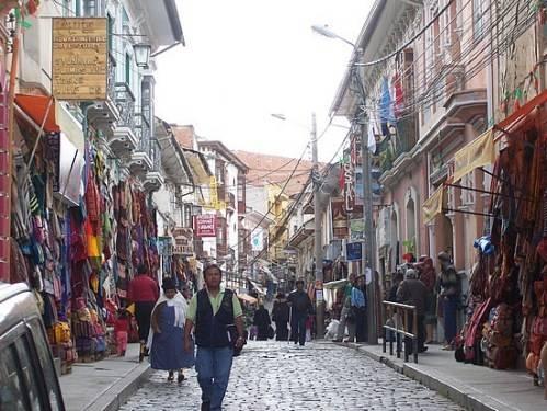 Mercado de Las Brujas en La Paz