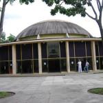 Visitando el Planetario Humboldt, en Caracas