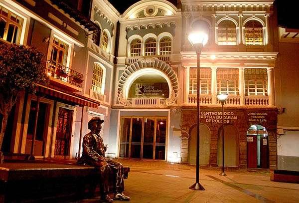 Plaza del Teatro de Quito