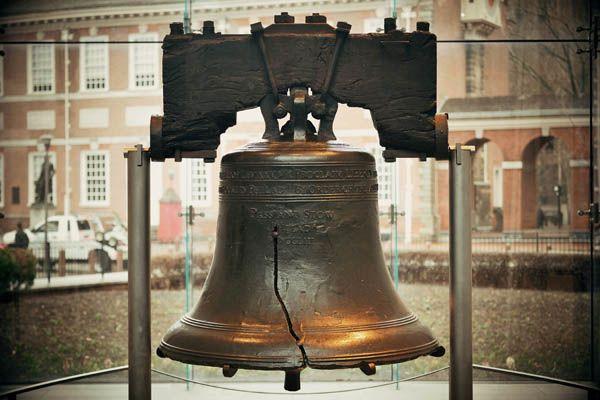 Campana de la Libertad en Filadelfia