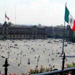 El centro histórico de México DF