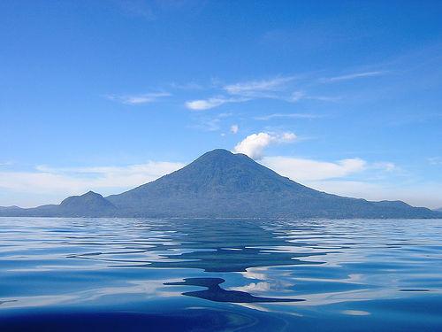 Lago Atitlan en Guatemala