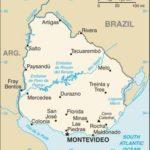 Ciudades de Uruguay, geografía política