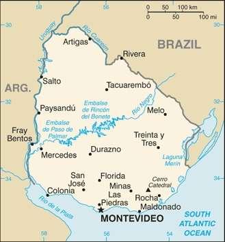 Ciudades de Uruguay