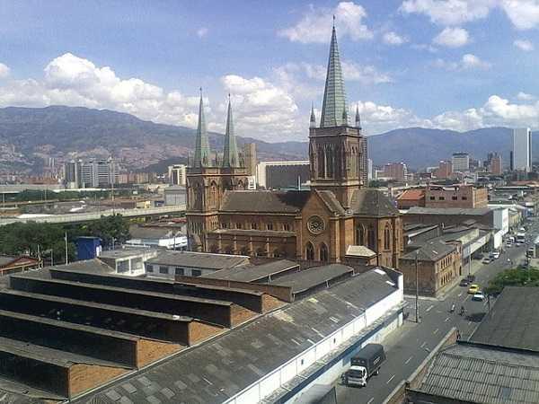 Iglesia del Perpetuo Socorro en Medellín