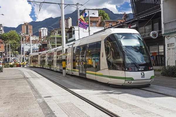 Tranvía en Medellín