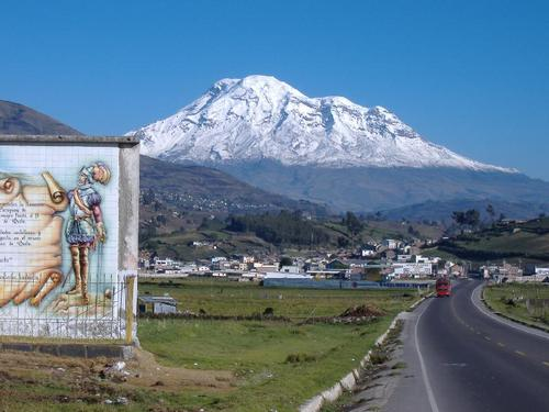 El Chimborazo en Ecuador