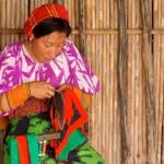 Las molas, traje típico de Panamá