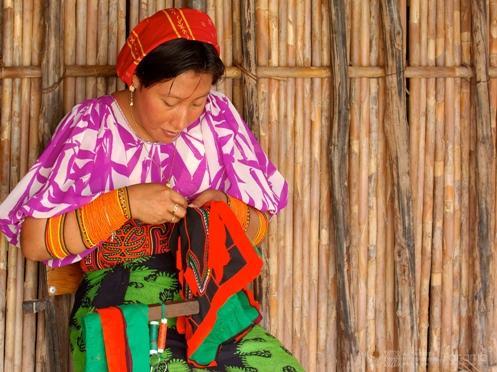 Molas, traje típico panameño