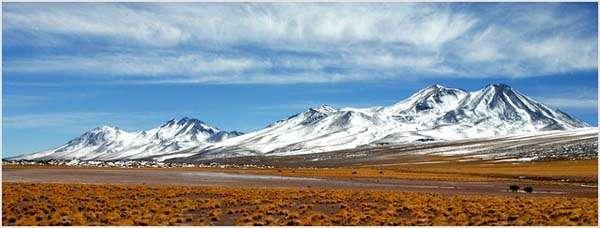 Chile paisaje andino