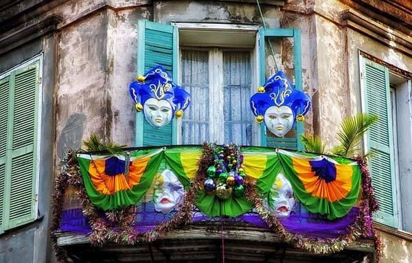 Mardi Gras Nueva Orleans