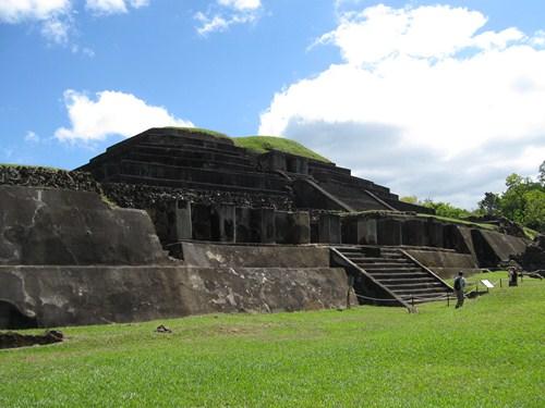 Tazumal, en El Salvador