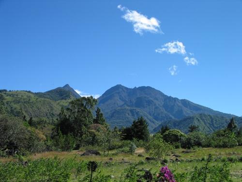 El volcán Barú en Panamá 2