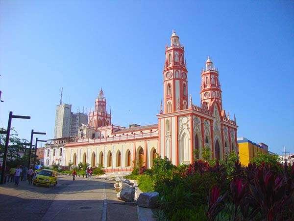 Barranquilla, iglesia de San Nicolas de Tolentino