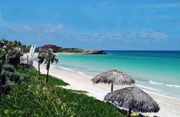 Playa del Pilar en Cuba