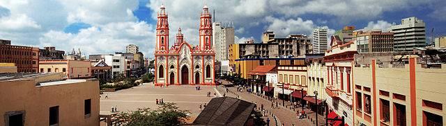 Plaza de San Nicolás en Barranquilla