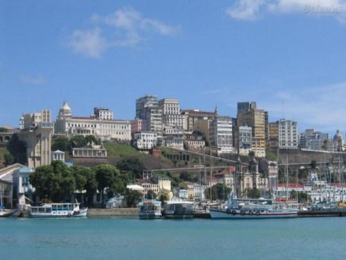 Vista de Salvador de Bahía