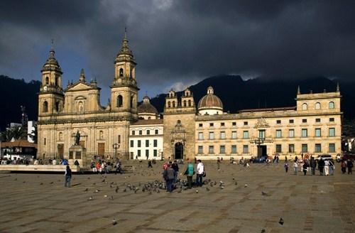 Plaza Bolivar de Bogotá