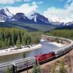 Viajar en tren por Canadá