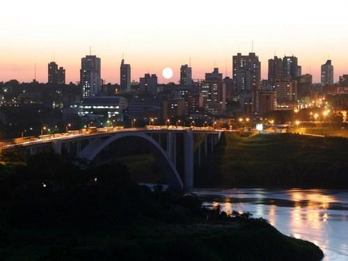 Ciudad del Este, en Paraguay
