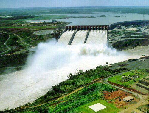 Represa Hidroeléctrica de Itaipú