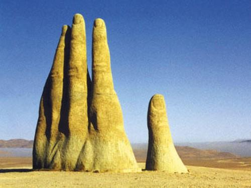 Mano del Desierto de Atacama