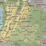 Ciudades de Colombia, geografía política
