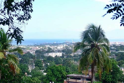 Puerto Principe, en Haiti