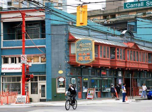 Edificio Sam Kee, en Vancouver