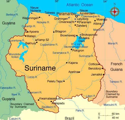 Informacion Sobre Surinam