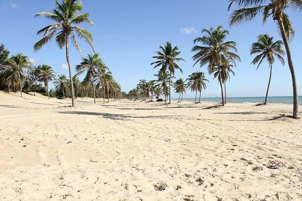 Playa en Fortaleza