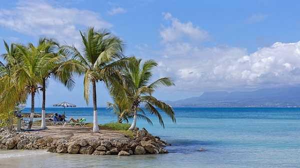 Guadalupe, en las Antillas Francesas