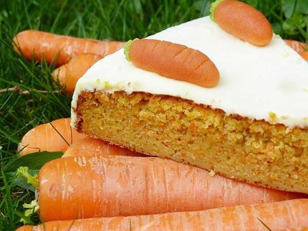 Gastronomía en Santa Lucía - pastel de zanahoria